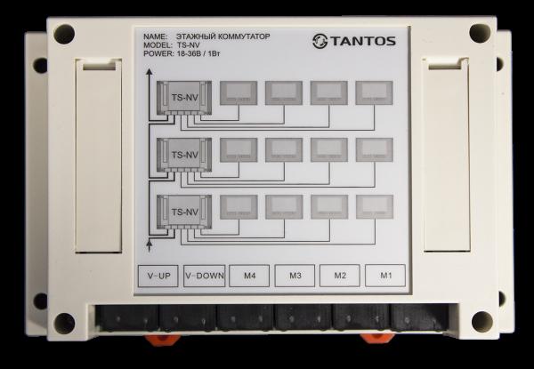 Коммутатор домофонной линии Tantos TS-NV