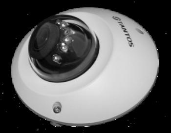 Купольная IP-видеокамера Tantos TSi-Dn235FP (2.8) 2 Мп с ИК подстветкой 10м