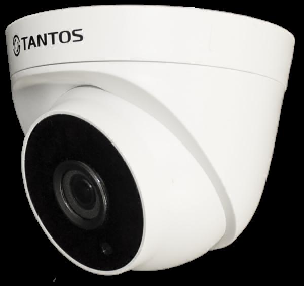Купольная IP-видеокамера Tantos TSi-Eeco25FP (3.6) 2Мп с ИК подсветкой 25м