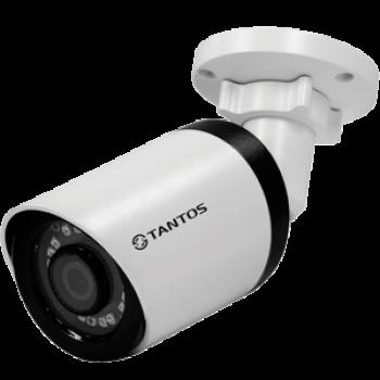 Цилиндрическая IP-видеокамера Tantos TSi-Pe50FP (3.6) 5 Мп с ИК подсветкой 25м