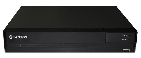 8-канальный гибридный видеорегистратор Tantos TSr-UV0816 Eco
