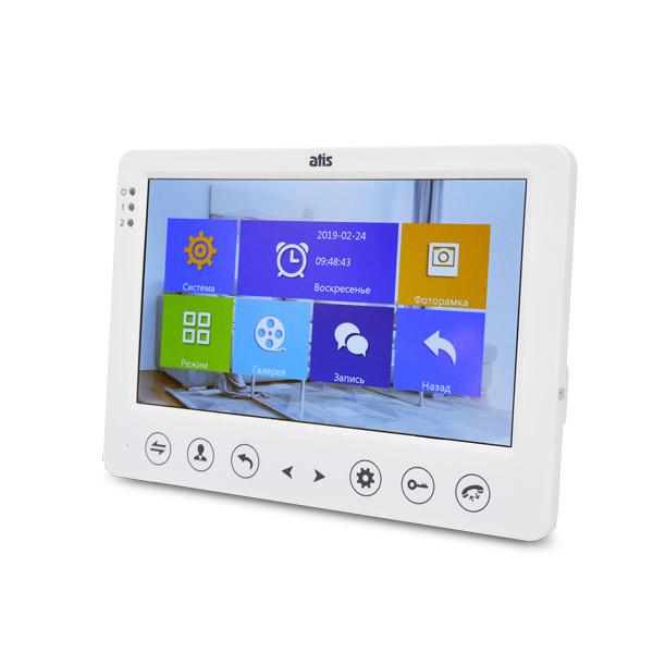 Монитор видеодомофона ATIS AD-720HD White