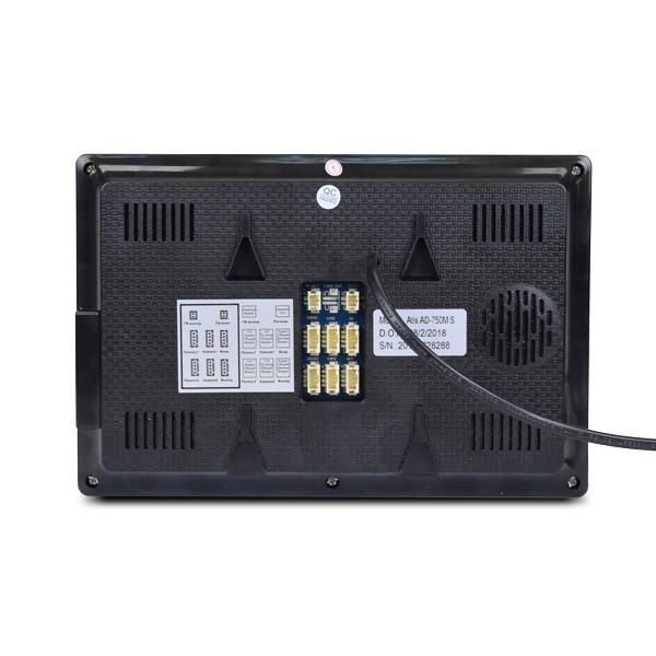 Монитор видеодомофона ATIS AD-750HD S-Black