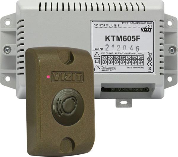 Контроллер ключей Vizit VIZIT-КТМ605