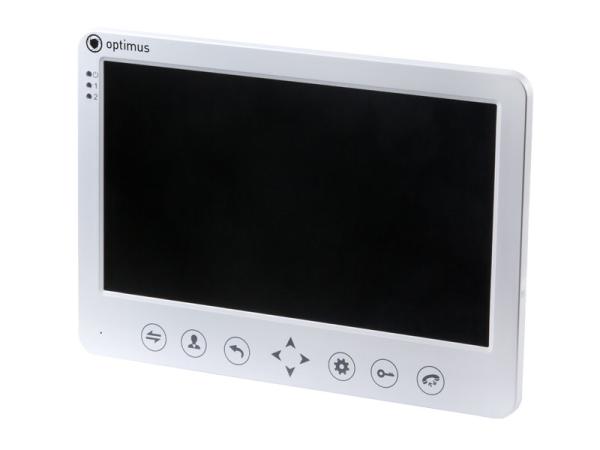 Монитор видеодомофона Optimus VM-10.1 (w)