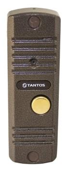 Вызывная панель видеодомофона Tantos WALLE+ (медь)