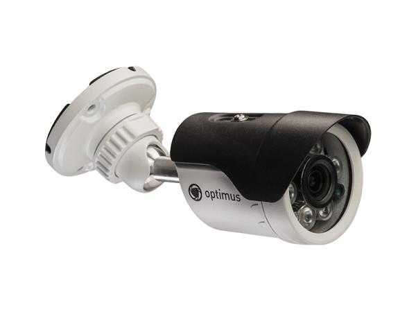Цилиндрическая AHD-видеокамера Optimus AHD-H012.1(2.8)E с ИК-подсветкой до 35 м