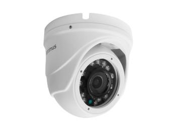 Купольная AHD-видеокамера Optimus AHD-H042.1(2.8)_V.2 с ИК-подсветкой до 20 м