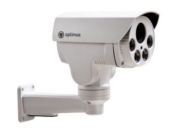 PTZ камера AHD-видеокамера Optimus AHD-H082.1(4x) с ИК-подсветкой до 50 м
