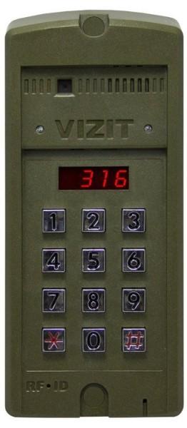 Блок вызова домофона Vizit БВД-316RCP