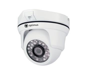 Купольная AHD-видеокамера Optimus AHD-M041.0(2.8) с ИК-подсветкой до 20 м
