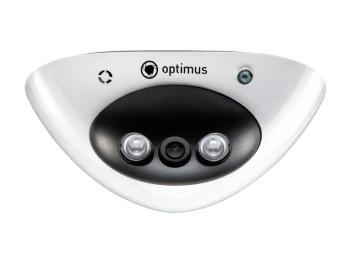 Купольная AHD-видеокамера Optimus AHD-M071.0(2.8)E с ИК-подсветкой до 20 м
