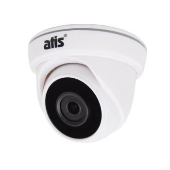 Купольная MHD-видеокамера ATIS AMD-2MIR-20W/2.8 Lite c ИК-подсветкой до 20 м