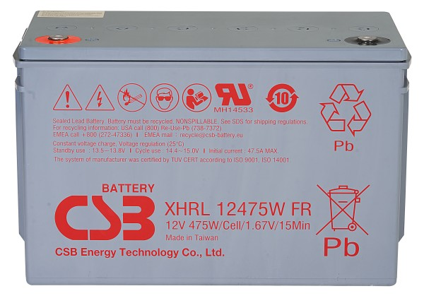 Аккумулятор CSB 12V 118.8Ah XHRL12475W