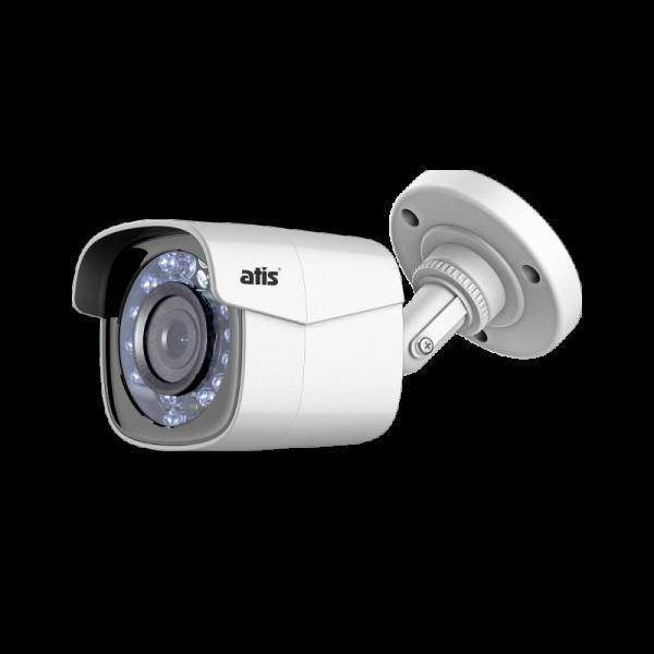 Компактная цилиндрическая MHD-видеокамера ATIS AMH-BM12-2.8 с ИК-подсветкой до 20 м