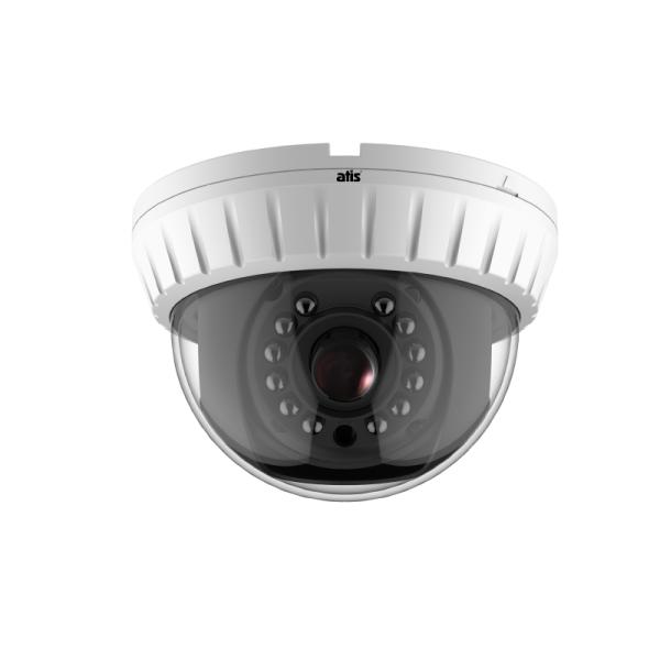 Купольная MHD-видеокамера ATIS AMH-D12-3.6 с ИК-подсветкой до 20м