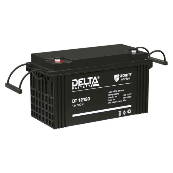 Аккумулятор Delta 12V 120Ah DT 12120