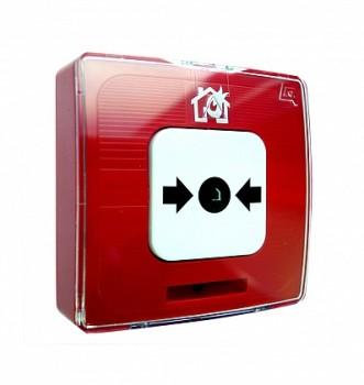 Извещатель пожарный ручной Рубеж ИПР 513-10 исп.1