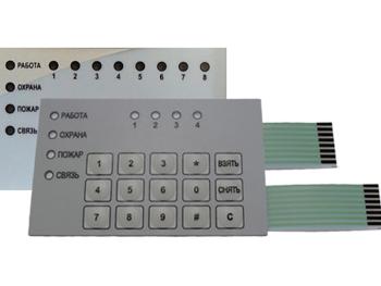 Пленочная клавиатура для КОП-02