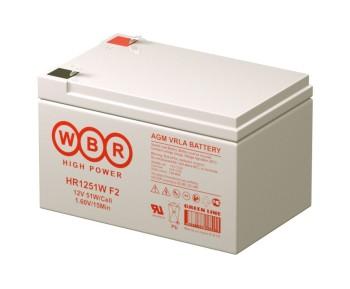 Аккумулятор WBR 12V 12Ah HR1251W
