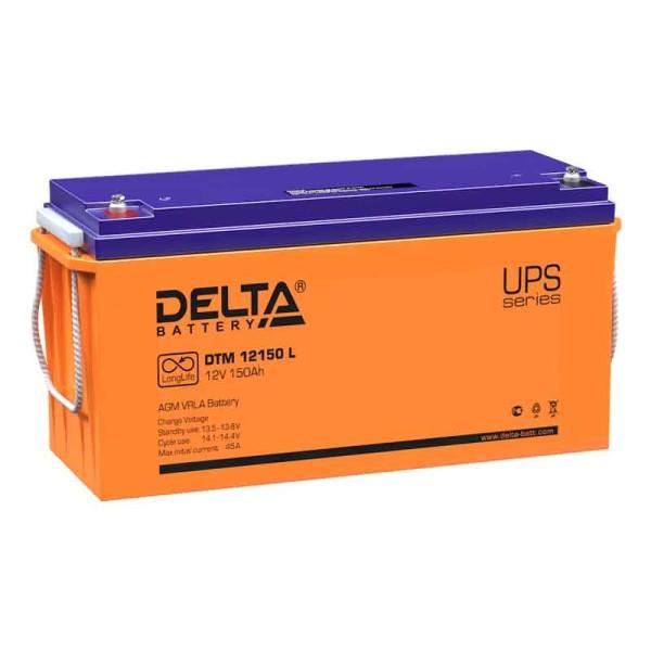 Аккумулятор Delta 12V 150Ah DTM 12150 L